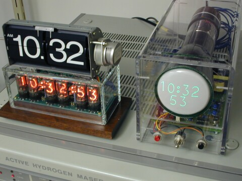 The most accurate nixie clock