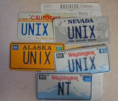Lot of Unix